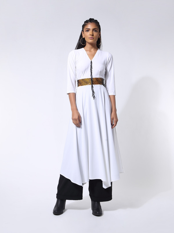 Pina Dress With Belt